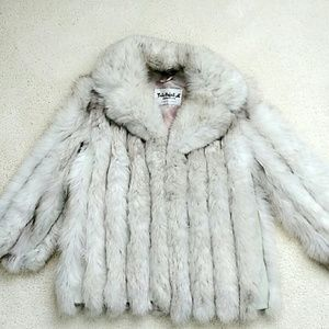 Jackets & Blazers - $$ SOLD $$ Real Blue Fox Fur Coat